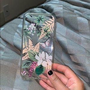 Kate Spade Jeweled Botanical Case iPhone XR